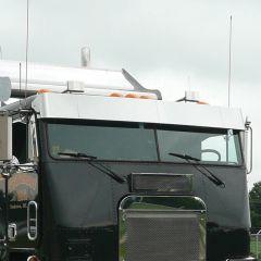 Freightliner FLA Cab Over Blind Mount Visor