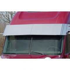 "Freightliner 17"" Drop Visor with Bulls-Eye Lights"