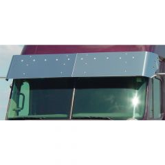 "Freightliner 17"" Drop Visor with Bulls-Eye LED"