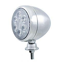 "5"" 6 LED Stainless Steel Teardrop Work Light"