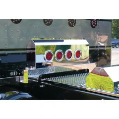 "Peterbilt Shock Cover with Four 4"" Round LED Lights"
