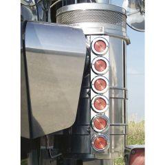 "KW 13"" Donaldson/Vortox Front AC LED Light Bars"