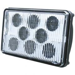 "6"" x 4"" Rectangular 8 LED Low Beam Headlight"