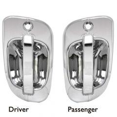 Freightliner Cascadia, M2 Chrome Door Handle Covers