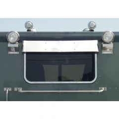 "Peterbilt 37"" One-Piece Rear Window Visor"