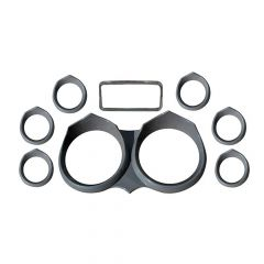 Paintable Wicked Gauge Bezel Kit for Peterbilt 2006 and newer
