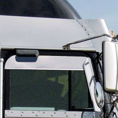 Top of Door Trim for Freightliner Classic, FLD with Cab Mounted Mirrors