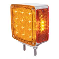 27 Amber & Red LED Double Face Turn Signal