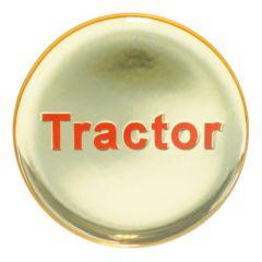 "1-3/4"" Glossy Tractor Air Valve Knob Sticker"