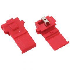 Red Quick Splice 22-18 Gauge (8 pk)