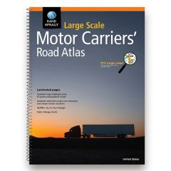 Rand McNally Large Scale Motor Carriers' Atlas