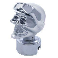 13/18 Speed Chrome Skull Biker Gear Shift Knob