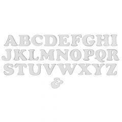 "4"" Chrome Letters - Tape Mount"