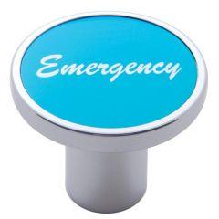 "Aluminum Air Valve Knob with ""Emergency"" Sticker"