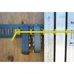 Yellow Rack Load Bar, Strap and Equipment Storage