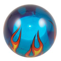 Clear Blue Flame Shifter Knob