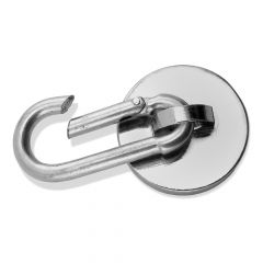 Magnetic Carabiner Hook, 45 Lbs.