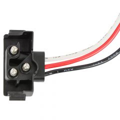 """3 Prong Right Angle Pigtail Plug 24"""" Lead"""