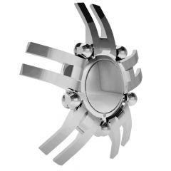 Chrome Spyder 22.5 Front Wheel Cover