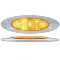 "6-5/8"" 7 LED Ultra Thin Spyder Y2K Dual Function Light"