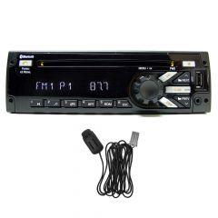 Delphi SiriusXM Satellite Radio with Bluetooth Mic, Green/Amber