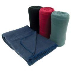 """50"""" x 60"""" Fleece Throw Blanket"""
