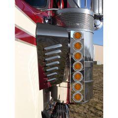 "KW 15"" Donaldson Front Air Cleaner LED Light Bars"