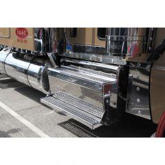 """Peterbilt 70"""" Sleeper/Extension Panels Clear Bulls-Eye LEDs"""