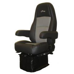 Atlas II Thermassage Black/Gray UltraLeather Seat