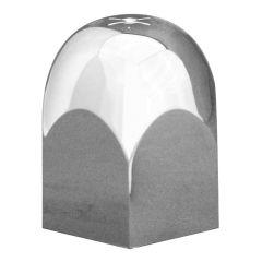 "1-1/2"" Alcoa Chrome Plastic Hex Nut Cover - Push On"