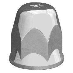 33mm Alcoa Chrome Plastic Nut Cover - Push On