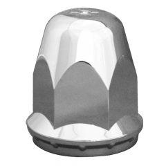 33mm Alcoa Chrome Plastic Nut Cover - Thread On