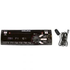 Delphi Heavy-Duty SiriusXM Satellite Radio AM/FM/WB/CD with Bluetooth Mic
