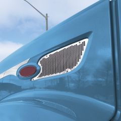 Peterbilt 579 Air Intake Punched Grill