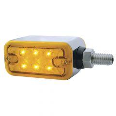 "1.5"" 6 LED Rectangular Double Face Light"