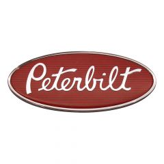 "Peterbilt 8"" Chrome Hood Emblem"