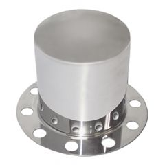 SS Rear Axle Cover for Stud-Pilot Aluminum Wheel