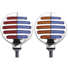 Flatline Dual Color Double Face Round LED Light