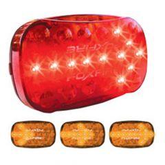 "6"" x 4"" Red 20 LED Foxfire Arrow Light"