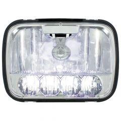 "5"" x 7"" High/Low Beam LED Crystal Headlight"