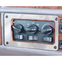 Peterbilt AC/Heater Control Panel Trim