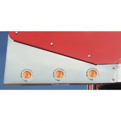 Peterbilt 379 Wing Extentions with Round Lights