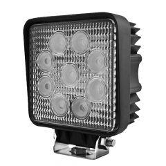 "Hella 4"" 9 LED Square Close Range Work Light"