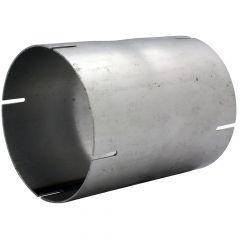 "5""ID x 6.5""L Aluminized Straight Tube Coupler"