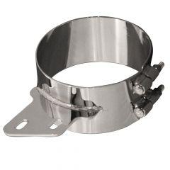 6-Inch D x 3-Inch W Peterbilt Angled Bracket Clamp