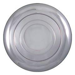 Chrome Horn Button