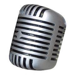 Retro Microphone Shifter Knob