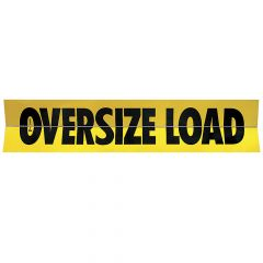 "18"" x 84"" Hinged Aluminum Oversize Load Sign"