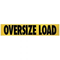 "12"" x 60"" Wood Escort Vehicle Oversize Load Sign"