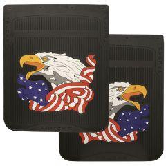 "24"" x 30"" Eagle and American Flag Mud Flaps (PR)"